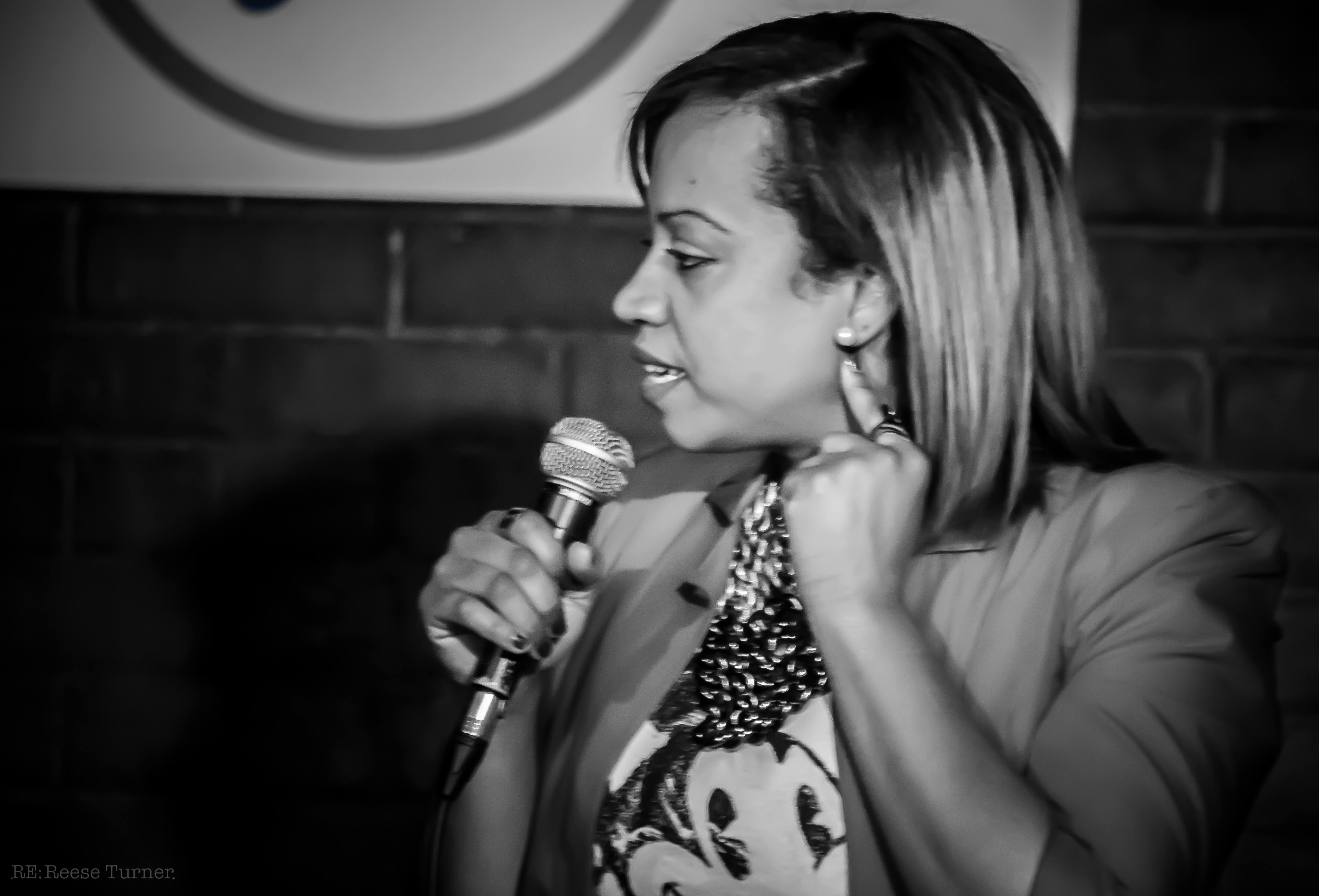 Keesha Brownie – Underground Comedy Railroad – Montreal-10