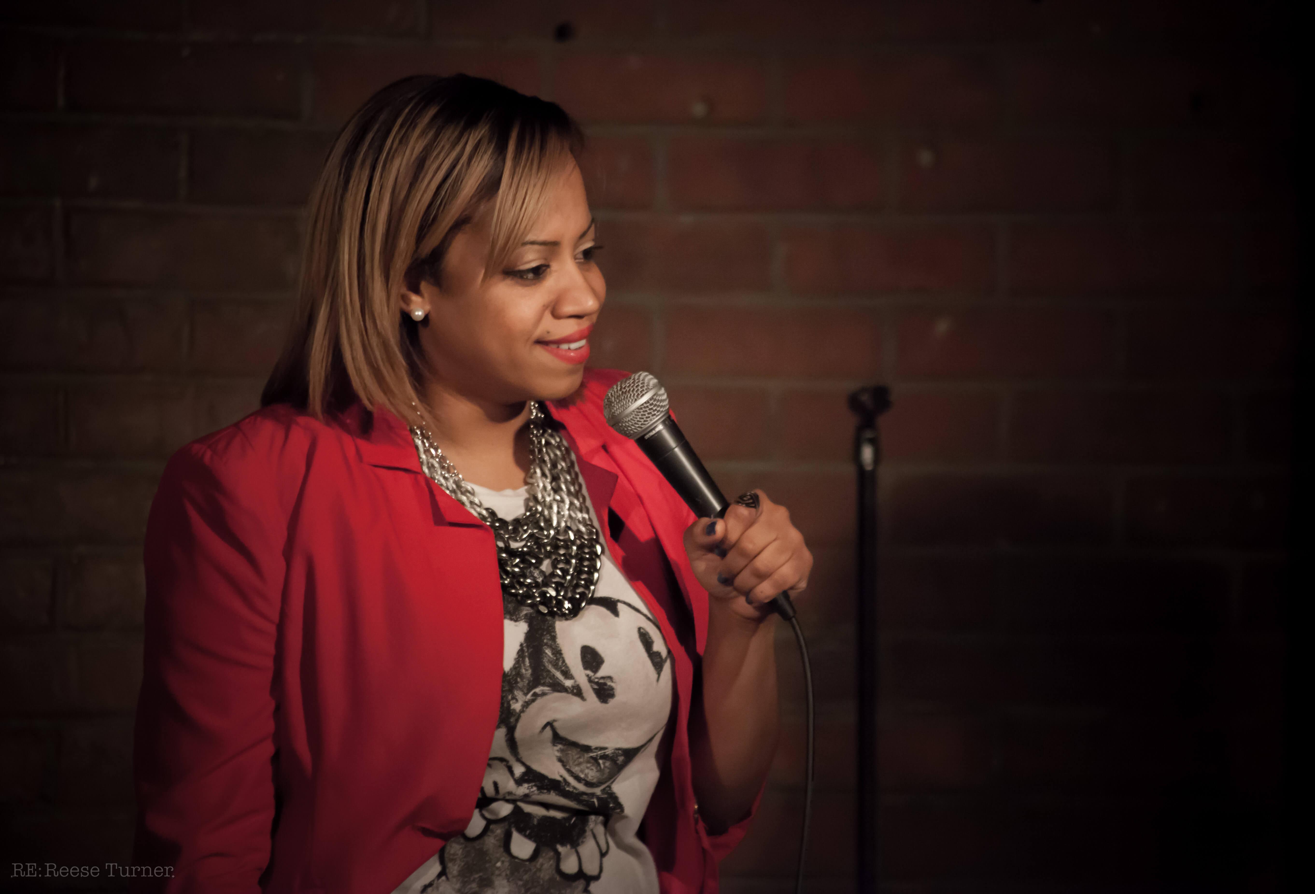 Keesha Brownie – Underground Comedy Railroad – Montreal-11